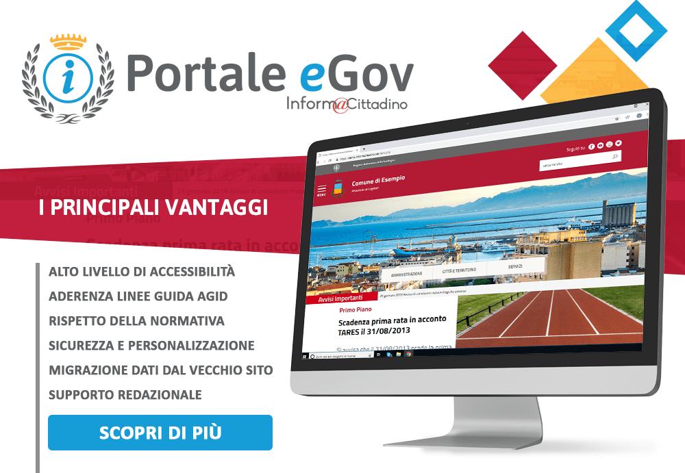 portale egov istituzionale informacittadino