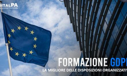 Formazione GDPR: la migliore delle misure organizzative