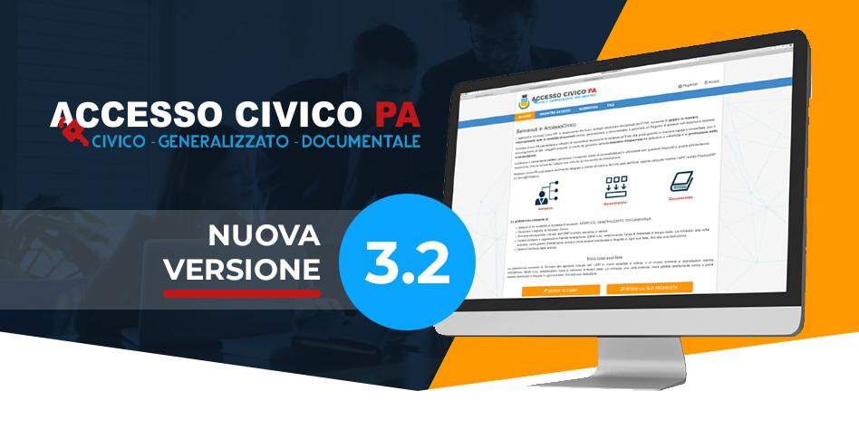 AccessoCivicoPA nuova versione  3.2