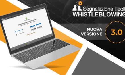 Whistleblowing: nuova versione 3.0