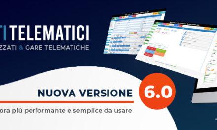 Acquisti Telematici 6.0: nuova release della suite per la gestione dell'e-procurement a 360°