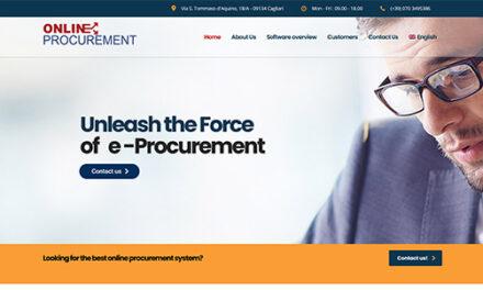Nuovo sito Online Procurement: l'e-Procurement a livello internazionale