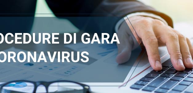 Procedure di Gara e CoronaVirus: osservazioni e consigli ANAC per la sospensione dei termini