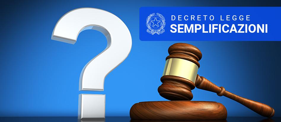 RUP in difficoltà con il nuovo Decreto Legge Semplificazioni