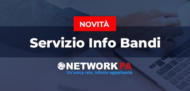 Appalti pubblici: con NetworkPA ora disponibile il servizio informativo bandi