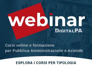 Corsi online per Aziende e Pubblica Amministrazione