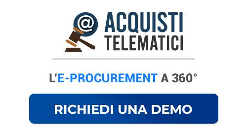 acquisti telematici richiesta demo