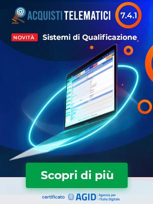 Acquisti Telematici 7.4.1 - Sistemi di Qualificazione