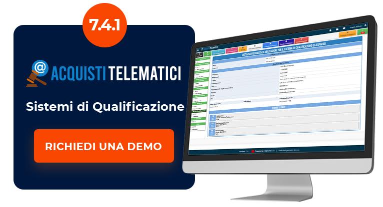 Acquisti Telematici 7.4.1 - richiedi una demo