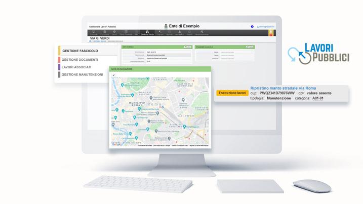 Software Lavori Pubblici, gestione manutenzioni per l'Ufficio Tecnico